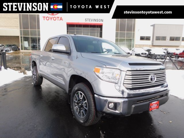 Photo Used 2015 Toyota Tundra 4WD CrewMax Short Bed 5.7L FFV Limited