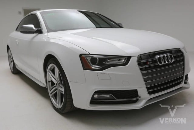Photo Used 2013 Audi S5 Premium Plus Coupe AWD in Vernon TX
