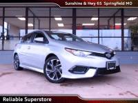 2018 Toyota Corolla iM Base Hatchback FWD