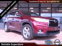 2016 Toyota Highlander Limited SUV AWD For Sale in Springfield Missouri