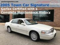 Used 2005 Lincoln Town Car Signature For Sale at Paul Sevag Motors, Inc. | VIN: 1LNHM81W55Y608304