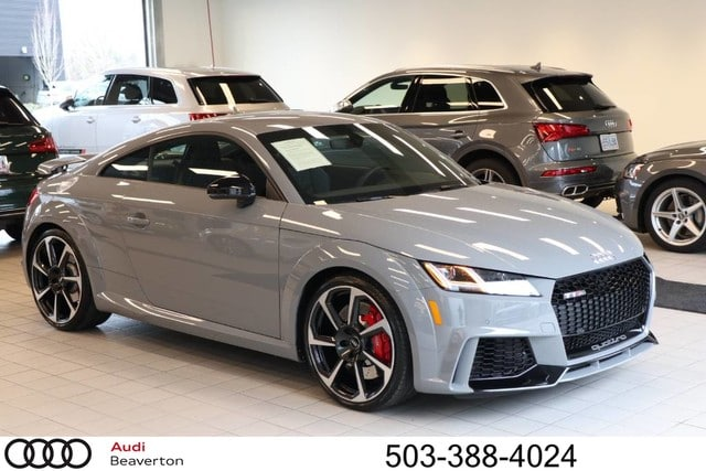 Photo Certified Pre-Owned 2018 Audi TT RS 2.5T Coupe for Sale in Beaverton,OR