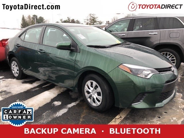 Photo 2016 Toyota Corolla LE ECO Sedan Front-wheel Drive