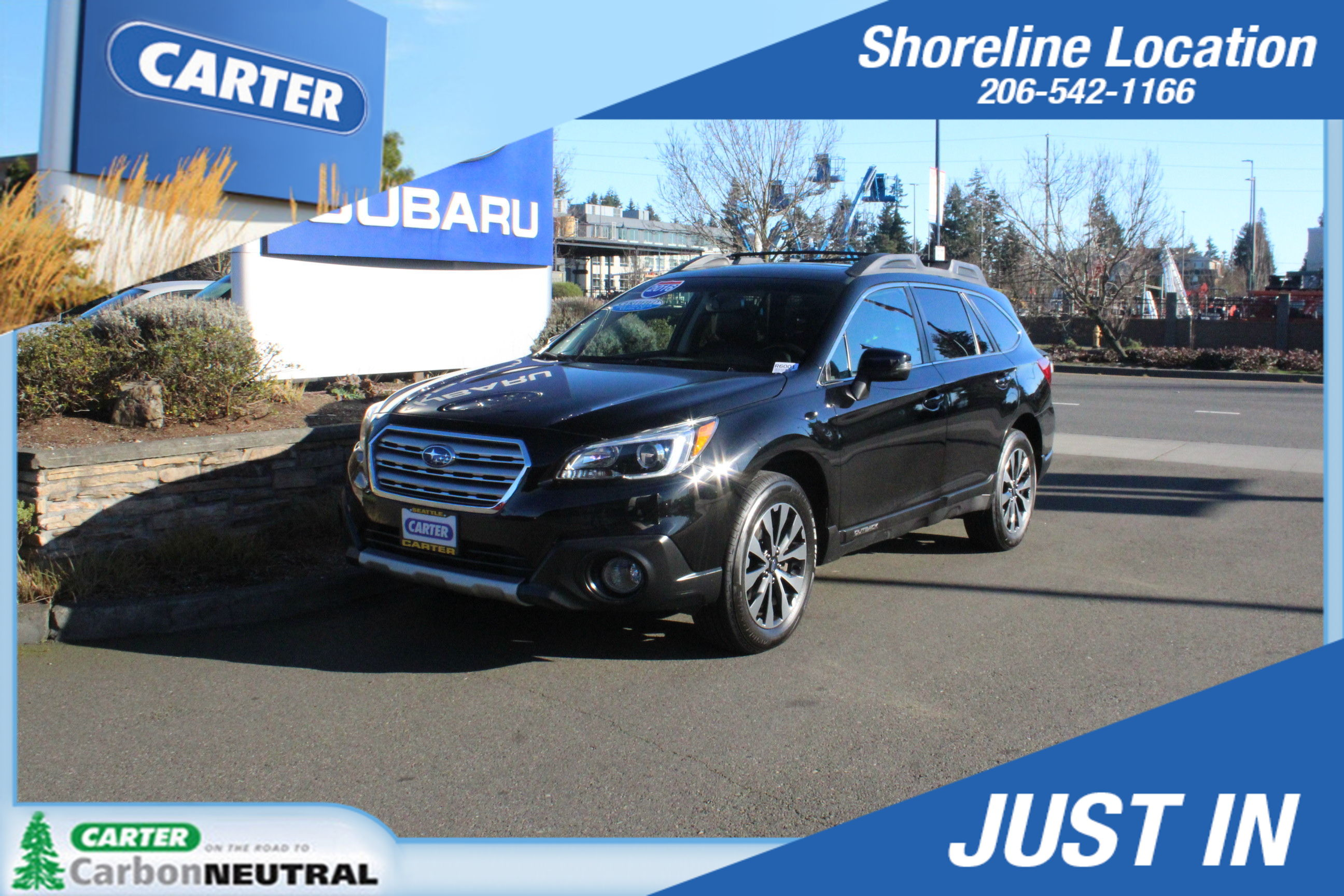 Photo 2016 Subaru Outback 2.5i Limited For Sale in Seattle, WA