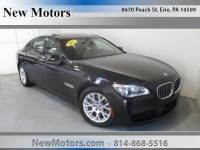 2015 BMW 7 Series 750Li Xdrive in Erie, PA