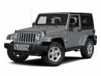 Pre-Owned 2015 Jeep Wrangler Wrangler X 4WD