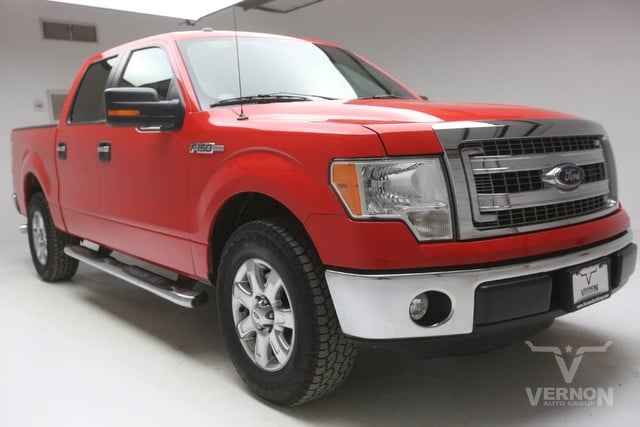 Photo Used 2013 Ford F-150 XLT Texas Edition Crew Cab 2WD in Vernon TX