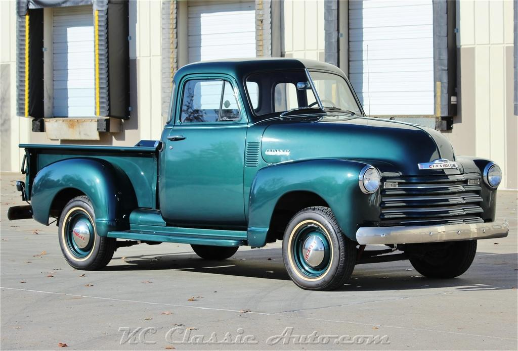 Photo 1951 Chevrolet 3100 Pickup 5 window 4spd