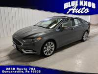 2017 Ford Fusion Platinum ECOBOOST Sedan in Duncansville | Serving Altoona, Ebensburg, Huntingdon, and Hollidaysburg PA