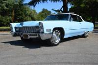 Pre-Owned 1967 Cadillac Deville Convertible Ventian Blue Gorgeous