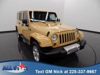 Used 2013 Jeep Wrangler Unlimited 4WD 4dr Sahara Sport Utility