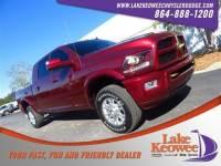 Certified Used 2017 Ram 2500 Laramie 4x4 Mega Cab 64 Box Pickup Truck For Sale NearAnderson, Greenville, Seneca SC