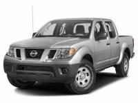 2018 Nissan Frontier SV 4WD Crew Cab