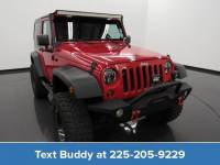 Pre-Owned 2009 Jeep Wrangler 4WD 2dr X Sport Utility