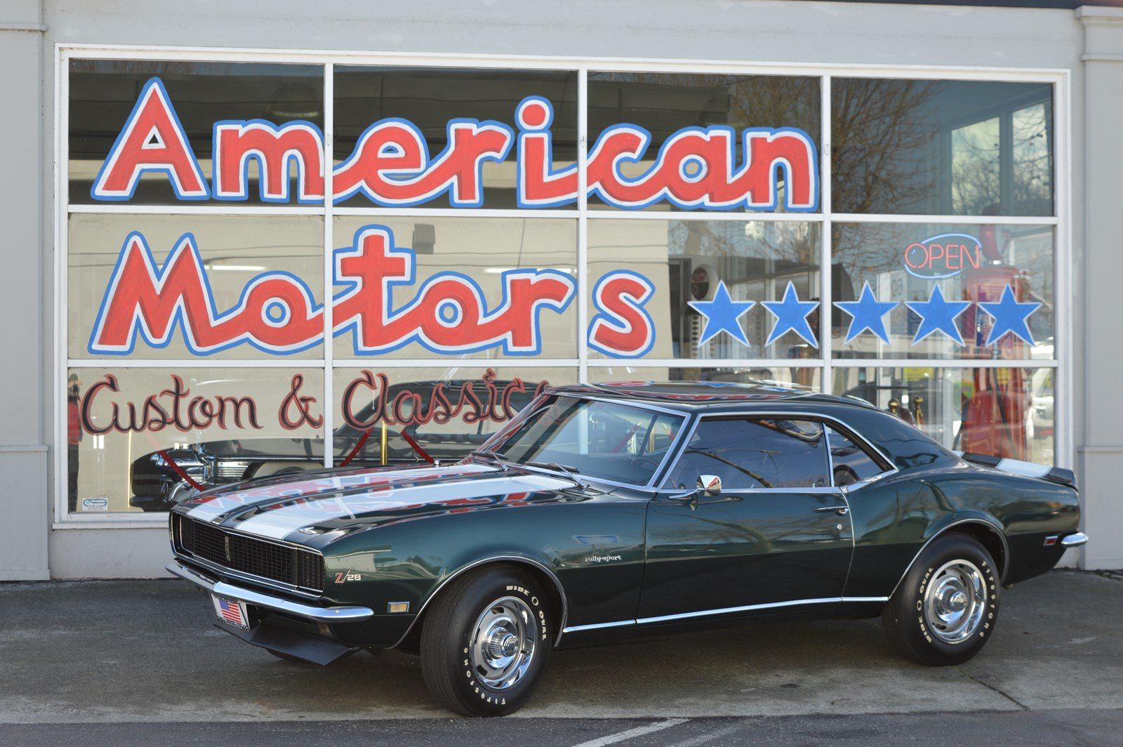 Photo Pre-Owned 1968 Chevrolet Camaro Z28 RS Numbers Matching Data Report Certified By Jerry Mcneish