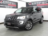 2017 Ford Explorer LIMITED NAVIGATION SUNROOF REAR CAMERA PARK ASSIST HEATED COOLED