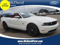 2012 Ford Mustang Convertible V-8 cyl