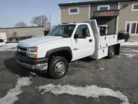 Used 2006 Chevrolet 3500 Reg Cab Flat-Bed Truck