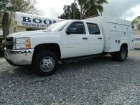 2011 Chevrolet Silverado 3500HD Work Truck Crew Cab 4WD