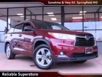2016 Toyota Highlander Limited SUV AWD