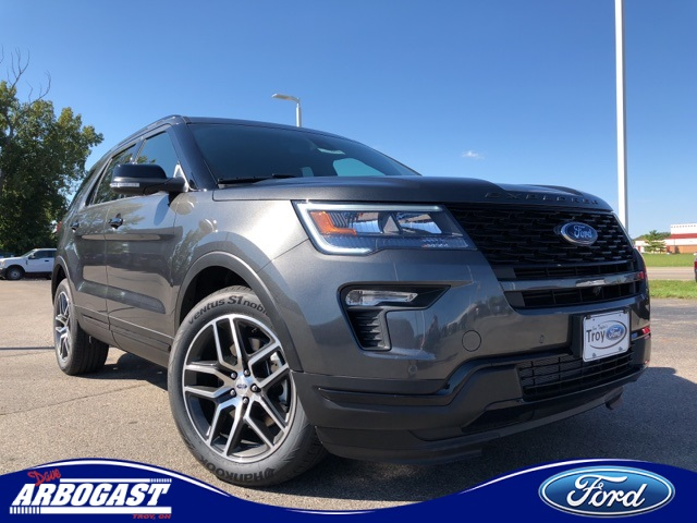 Photo New 2019 Ford Explorer Sport With Navigation  AWD