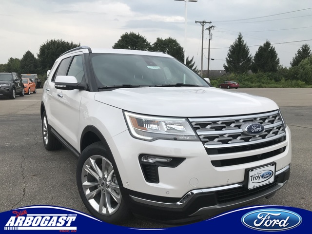Photo New 2018 Ford Explorer Limited With Navigation  AWD