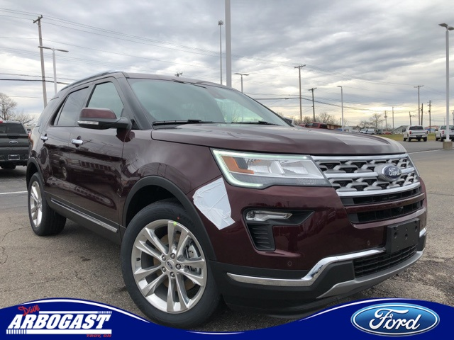 Photo New 2019 Ford Explorer Limited With Navigation  AWD