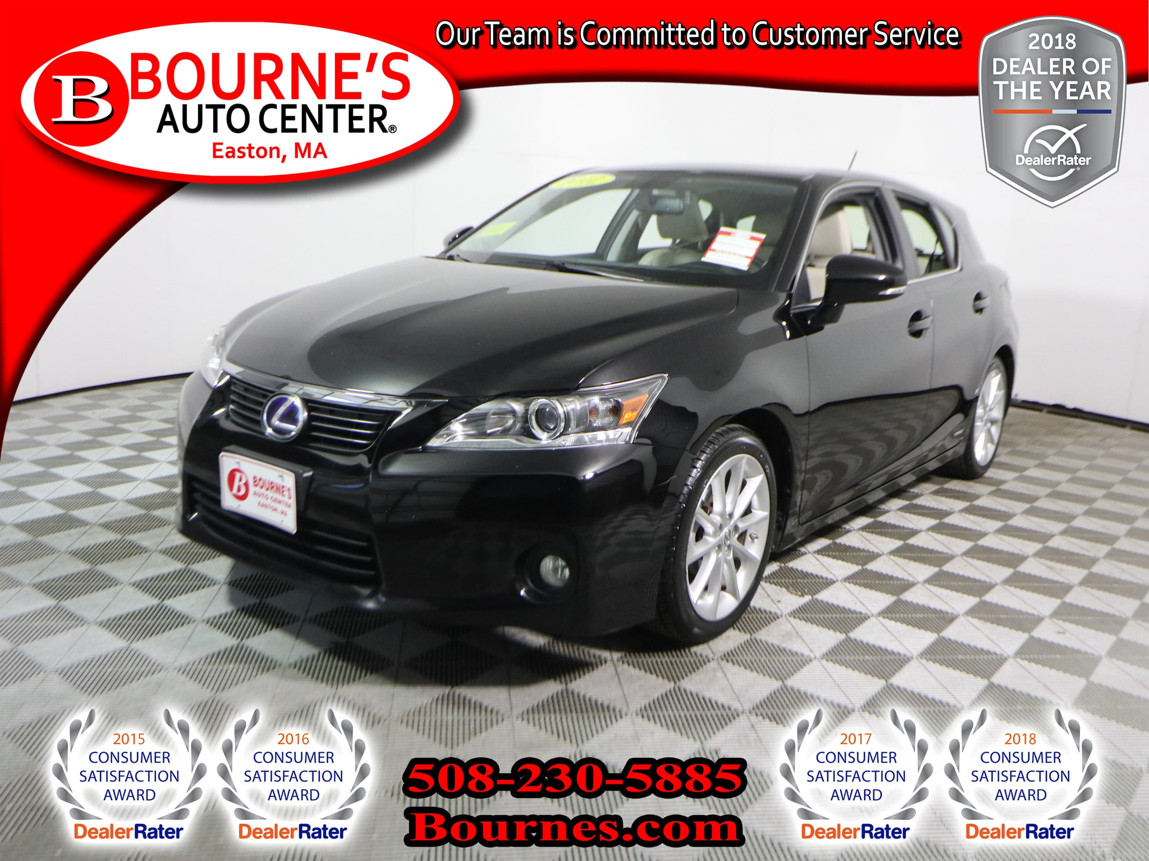 Photo 2012 LEXUS CT 200h Premium w Leather,Sunroof, And Heated Front Seats.