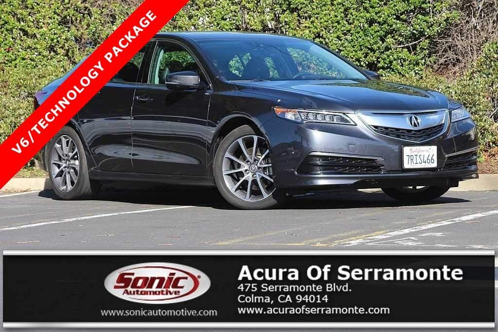 Photo Used 2015 Acura TLX TLX 3.5 V-6 9-AT P-AWS with Technology Package For Sale in Colma CA  Stock BFA024926  San Francisco Bay Area