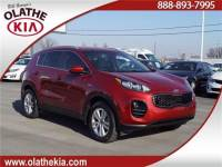 Used 2018 KIA Sportage LX All-wheel Drive For Sale in Olathe, KS near Kansas City, MO