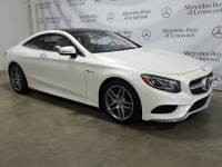 Certified Pre-Owned 2015 Mercedes-Benz S 550 4MATIC® Coupe
