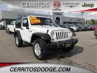 Used 2018 Jeep Wrangler JK Sport 4x4 for Sale in Cerritos