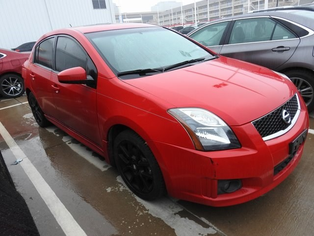 Photo 2012 Nissan Sentra SE-R Sedan Front-wheel Drive For Sale Serving Dallas Area
