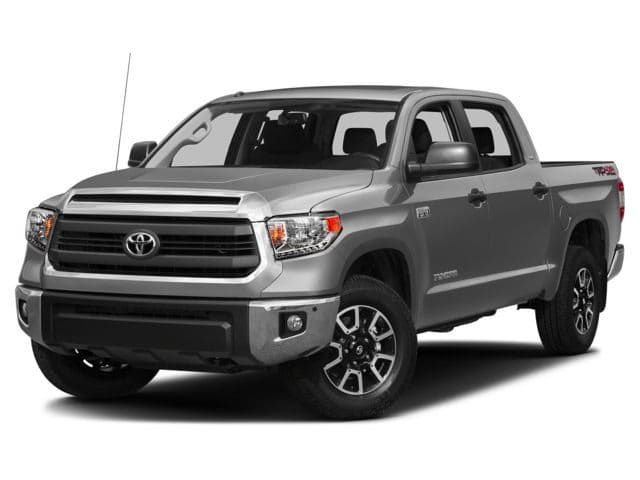 Photo Certified Pre-Owned 2017 Toyota Tundra SR5 CrewMax 5.7L V8 4x4 wTRD Off Road Package, En Truck in Plover, WI
