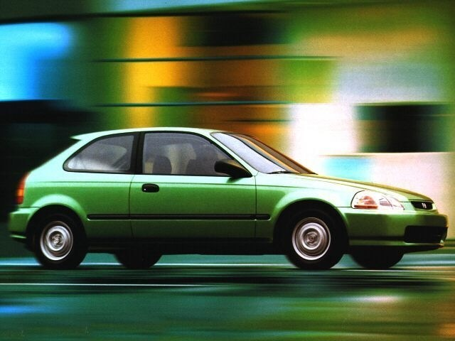 Photo Used 1996 Honda Civic DX For Sale In Wakefield