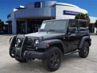 Pre-Owned 2017 Jeep Wrangler Big Bear - HARD TOP, Step Bars, Grill Guard, Clean Carfax, LOW MILES! Four Wheel Drive SUV
