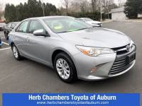 Used 2016 Toyota Camry LE Car Front-wheel Drive in Auburn, MA