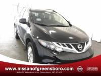 Certified 2014 Nissan Murano SL SUV in Greensboro NC