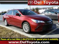 Used 2016 Toyota Camry LE For Sale in Thorndale, PA | Near West Chester, Malvern, Coatesville, & Downingtown, PA | VIN: 4T1BF1FK1GU582985