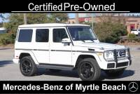 Used 2018 Mercedes-Benz G-Class G 550 SUV For Sale in Myrtle Beach, South Carolina