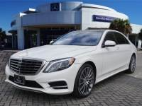Certified Pre-Owned 2016 Mercedes-Benz S 550 Rear Wheel Drive Sedan