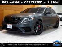 Certified Pre-Owned 2016 Mercedes-Benz S-Class S 63 AMG® AWD 4MATIC®