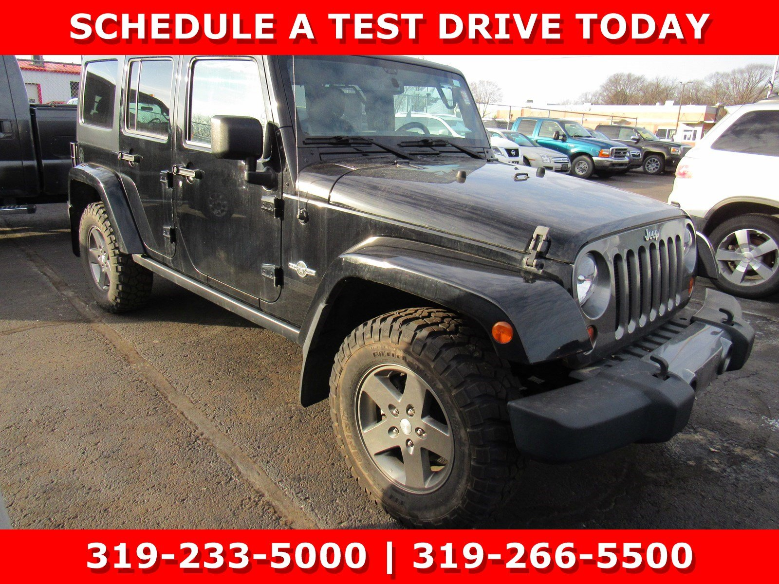 Photo Used 2013 Jeep Wrangler Unlimited Freedom Edition 4WD Freedom Edition Ltd Avail for Sale in Waterloo IA