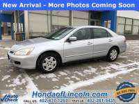 Pre-Owned 2007 Honda Accord LX 2.4 FWD