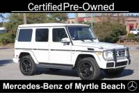 Certified Used 2018 Mercedes-Benz G-Class G 550 SUV For Sale in Myrtle Beach, South Carolina