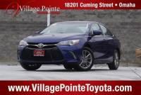 2016 Toyota Camry SE Sedan FWD for sale in Omaha