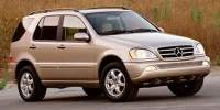 Pre-Owned 2003 Mercedes-Benz M-Class ML 350 4WD