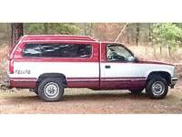 **SOLD**1991 CHEVROLET SILVERADO 1500 4X4, COATED BEDLINER, ...