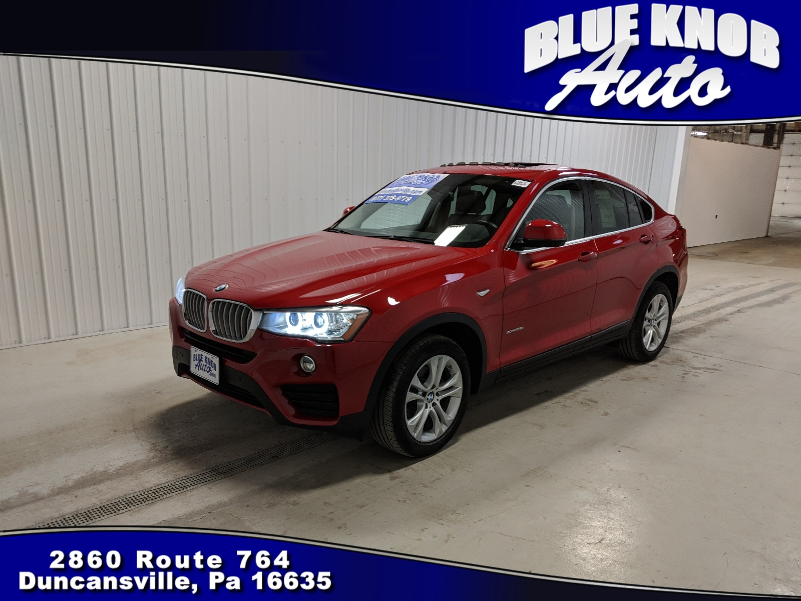 Photo 2016 BMW X4 xDrive28i Sports Activity Coupe in Duncansville  Serving Altoona, Ebensburg, Huntingdon, and Hollidaysburg PA