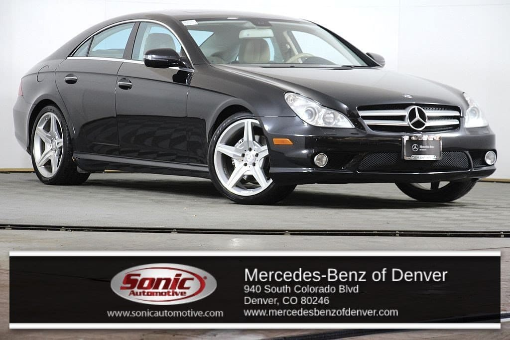 Photo Pre-Owned 2010 Mercedes-Benz CLS-Class CLS550 Sedan in Denver